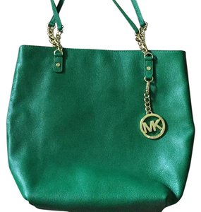 Michael Kors 38h1yjst3l Chain Tote in Gooseberry