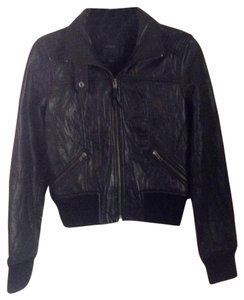 Express Leather Moto Leather Jacket