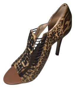 Nine West Boutique 9 Sandal Calf hair Leopard Print Sandals