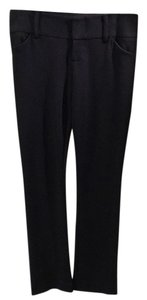 Alice + Olivia Straight Pants Black