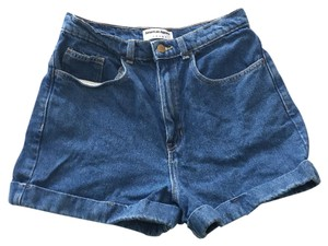 American Apparel Cuffed Shorts Dark blue