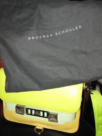 Proenza Schouler Ps11 Crossbody Classic Citrus Messenger Bag