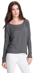 Eileen Fisher Back Yoke Detail T Shirt Ash Grey