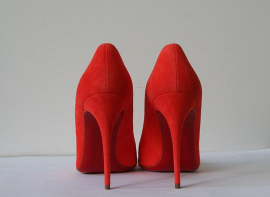 Christian Louboutin So Kate Pigalle Follies Pigalle Follies Orange Pumps