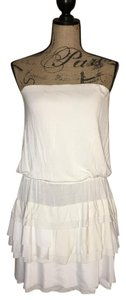 Jealous Tomato short dress White on Tradesy