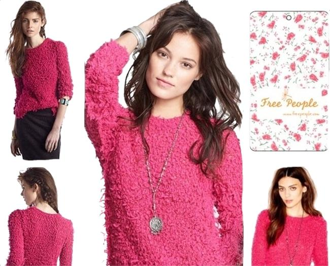 Preload https://img-static.tradesy.com/item/1740973/free-people-polar-bear-hot-pink-sweater-0-0-650-650.jpg