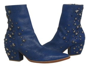 Matisse Charlotte Star Kate Bosworth Starembellishedboot Blue Boots