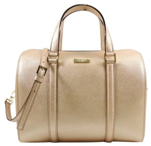 Kate Spade Mini Cassie Satchel in Rosegold