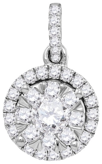Preload https://item1.tradesy.com/images/white-gold-diamond-ladies-luxury-designer-14k-092-cttw-fashion-pendant-by-briangdesigns-necklace-1741035-0-0.jpg?width=440&height=440