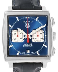 TAG Heuer TAG Heuer Monaco Automatic Chronograph Mens Watch CW2113 Box Papers