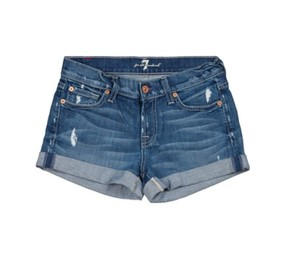 7 For All Mankind Summer Denim Shorts