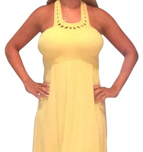 Guess short dress yellow on Tradesy