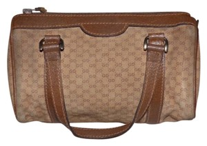 Gucci Doctor's Satchel in shades of brown w small G logo