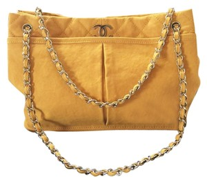Chanel Tote in Mustard