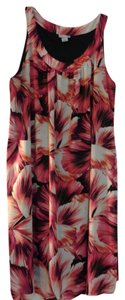 Catherines short dress bright floral on Tradesy