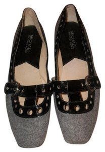 Michael Kors Grey and Black Flats