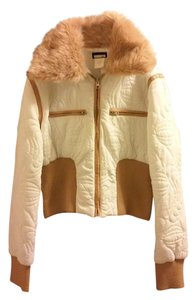 Lux Quilted White Jacket