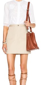 A.P.C. Mini Skirt Beige