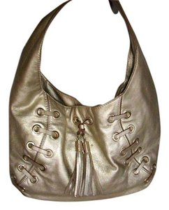 Michael Kors Metallic Tassels Hobo Bag