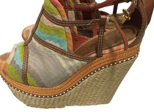 Missoni Multicolor Wedges
