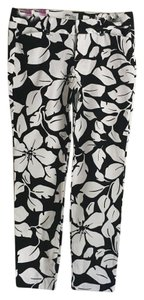 Old Navy Capris Black/White