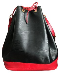 Louis Vuitton Tote in Black / Red