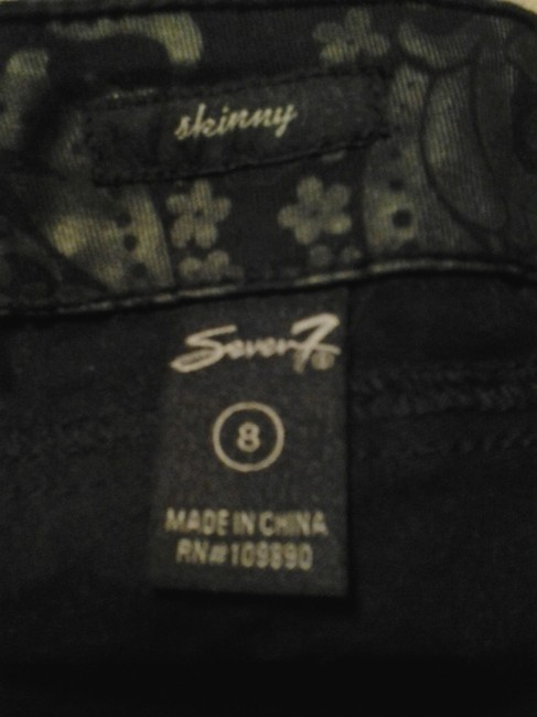 Seven7 Skinny Jeans-Coated