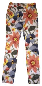 Kate Spade Skinny Pants Red / navy / white / yellow / blue