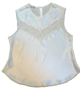 Dior Vintage Lace Top Cream