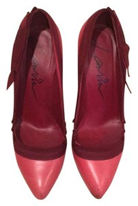 Lanvin Red Pumps
