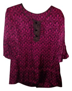 Marc by Marc Jacobs Top Pink and brown