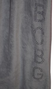 BCBGMAXAZRIA Velvet Workout Lounge Flare Flare Pants Gray