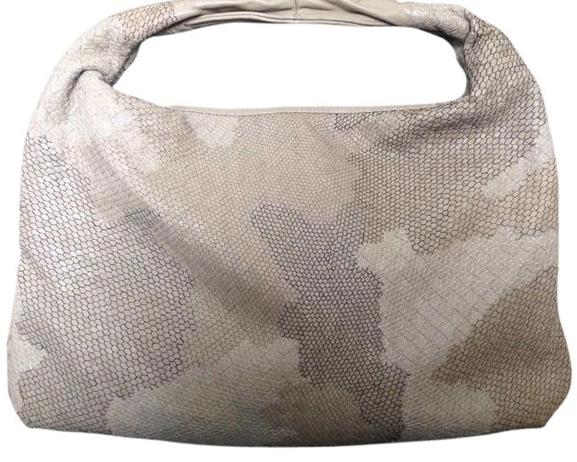 Item - Rare Carried Only 1 Week Safari Patchwork Ricamato Multi-color Leather Hobo Bag