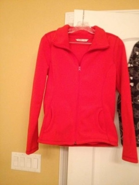 Old Navy Grey, Red Jacket