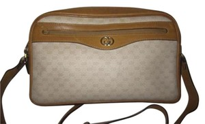 Gucci Gold Hardware Has Fobs Cross Body Bag