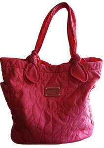 Marc Jacobs Pink Nylon Quilted Tote in Pretty Pink