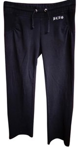 BCBGMAXAZRIA Capri Jog Yoga Lounge Cotton Pants