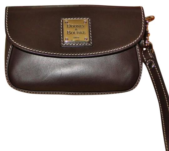 Dooney & Bourke Alto Leather Leather Box Wristlet in Brown T'Moro Image 3