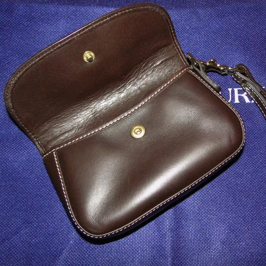 Dooney & Bourke Alto Leather Leather Box Wristlet in Brown T'Moro Image 6