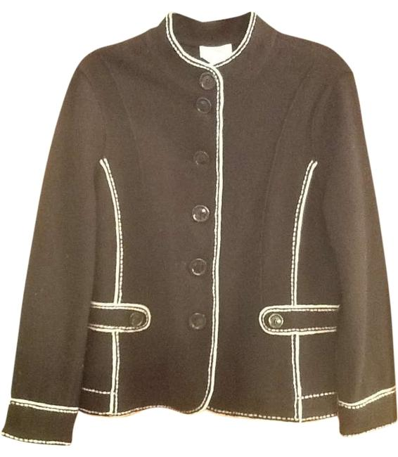 Talbots Light Weight Black and white Jacket