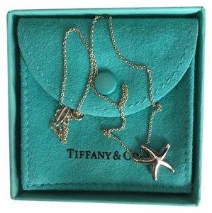 Tiffany & Co. Authentic Tiffany & Co. Sterling Silver Elsa Peretti Starfish Pendant