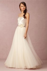 """BHLDN Ivory Silk Natori """"In Perpetuity"""" - Cami Only Casual Wedding Dress Size 2 (XS)"""