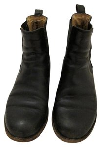 Frye Leather Size 6 Black Boots