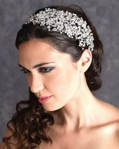 Spectacular Swarovski Crystal Wedding Headpiece Headband
