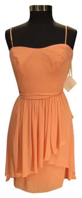 Preload https://img-static.tradesy.com/item/1741739/watters-coral-3532-bridesmaid-w-40-short-cocktail-dress-size-10-m-0-0-650-650.jpg