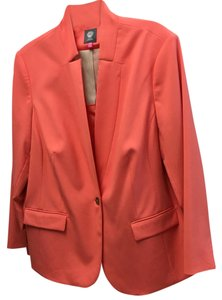 Vince Camuto Blazer Summer Professional Office Peach Jacket