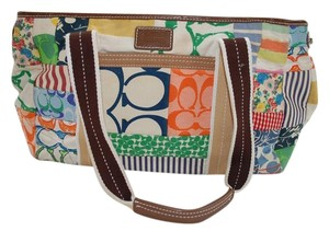 Coach Satchel in Multi Color