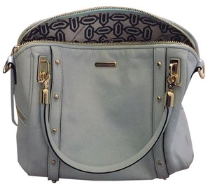 Rebecca Minkoff Light Leather Satchel in Blue