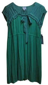 Simply Vera Vera Wang short dress Teal on Tradesy