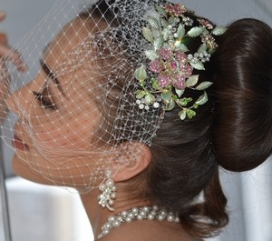 Bella Tiara Designer Collection - Gorgeous Wedding Hair Clip